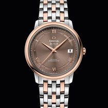Omega De Ville Prestige Co-Axial 36,8mm Steel/Red Gold Brown Dial