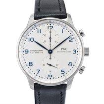 IWC Portuguese Chronograph Automatic White Dial
