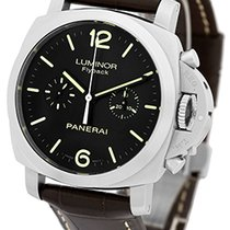 "Panerai Gent's Stainless Steel  PAM 361 44mm ""Luminor..."