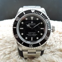 Rolex SUBMARINER 14060M No Date 4 Lines COSC Dial