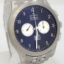 Zenith El Primero Grande Class Chronometre Black Dial Watch...