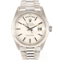 Rolex Day date vintage 1803 Full grey gold with stickers