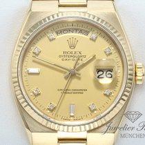 Rolex DAY DATE OYSTERQUARZ GELBGOLD 750 DIAMANTEN DayDate