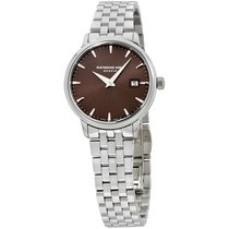 Raymond Weil Stainless Steel Brown Dial Ladies Watch 5988-st-7...