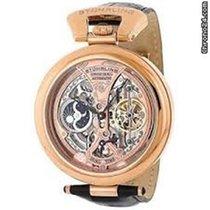 Stuhrling 127A334553 Men's Rose Gold Emperor's...