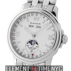 Blancpain Leman  Villeret Moonphase Stainless Steel 38mm White...