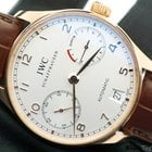 IWC Portuguese Automatic 7 Day Power Reserve Rose Gold IW500113