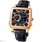 Ulysse Nardin Quadrato Dual Time Perpetual Rose Gold 18K Black...
