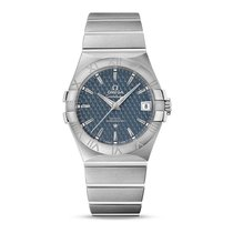 Omega Constellation Steel Blue Dial 123.10.35.20.03.002...