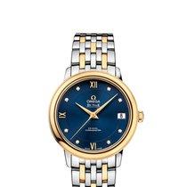 Omega Ladies 42420332053002 De Ville Prestige Co-Axial Watch