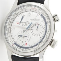 Jaeger-LeCoultre 146.8.32.s Master Control Geographic Silver...
