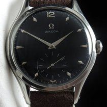 Jumbo Serviced 38mm Oversize Jumbo Vintage with black dial