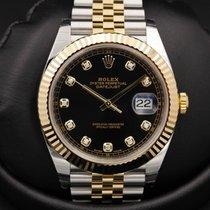 Rolex Datejust 41 - 126333 - Black Diamond Dial - BASEL 2016...
