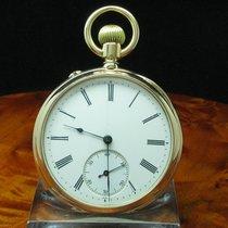 A. Lange & Söhne Deutsche Uhrenfabrikation 14kt Gold Open...