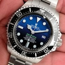 Rolex Sea Dweller Deepsea 116660 Mens Steel James Cameron...