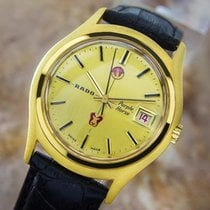 Rado Purple Horse Gold Plated Vintage Classic Automatic Watch...