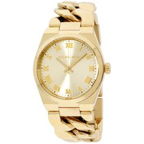 Michael Kors Watches Channing Three Hand Stainless Steel Watch...