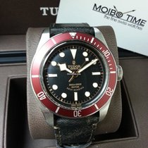 Tudor Heritage Black Bay Leather Strap Version Red [NEW]