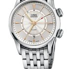 Oris Artelier Alarm Stainless Steel case and Bracelet