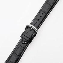 Perigáum Lederband 22 x 160 mm schwarz silberne Schliesse