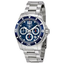 Longines HydroConquest Automatic Chronograph Blue Dial...