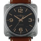Bell & Ross BR S Golden Heritage Stahl Automatik Armband...