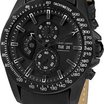 Jacques Lemans Liverpool GMT 1-1635C Herrenchronograph Sehr...