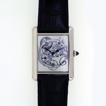 Cartier Tank Louis Skeleton Saphire W5310012