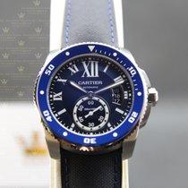 卡地亚 (Cartier) WSCA0010   Calibre De Cartier Diver Blue Dial
