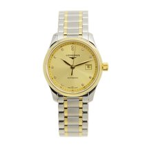 Longines Master 18k Gold Steel Gold Automatic L2.257.5.37.7