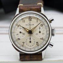 Jaeger-LeCoultre Vintage Manual Chronograph Valjoux 72 SS