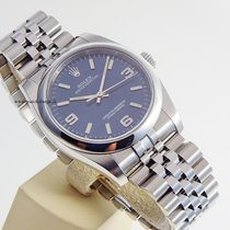 Rolex Oyster Perpetual blue  dial LC 100 top condition