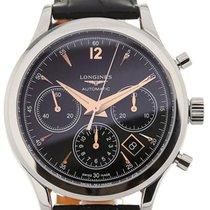 Longines Heritage Chronograph 41 Leather