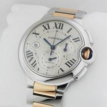 Cartier Ballon Bleu MENS Stainless Steel Gold Chronograph...