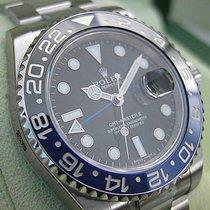 Rolex Gmt-master Ii 116710 Blnr Mens Steel Black & Blue...