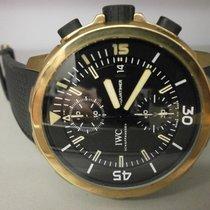 IWC Aquatimer Expedition Charles Darwin 3795-03 Bronze 44mm...