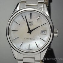 TAG Heuer Carrera Mother of Pearl 32MM Quartz Watch WAR1311.BA...