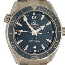 Omega Seamaster Planet Ocean 600m Co-Axial Titan Liquidmetal...