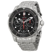 Omega Seamaster Automatic Chronograph Mens Watch 21230445001001