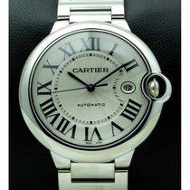 Cartier | Ballon Blue 42 Mm, 18kt White Gold, Full Set