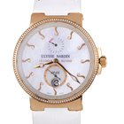 Ulysse Nardin Maxi Marine Chronometer 18K Rose Gold Diamonds