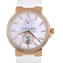 Ulysse Nardin Maxi Marine Chronometer 18K Rose Gold Diamonds