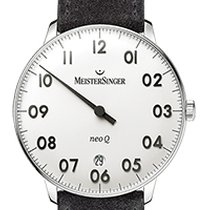 Meistersinger Ladies NEO F Q 36mm - White Dial