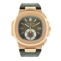 Patek Philippe Nautilus Rose Gold Monocounter Chronograph