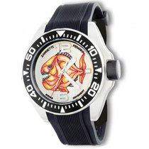 Zannetti Piranha Mother of Pearl Stahl Automatik 51mm