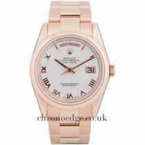 Ρολεξ (Rolex) Rolex Day-Date 18ct EverRose Gold 118205F