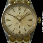 Rolex 3801 Super Precision 18k Yg & Stainless Scalloped...