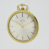 Zenith solid 18K Yellow Gold Pocket Watch Ultra Flat Cal. 2310...