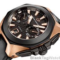 Girard Perregaux Chrono Hawk Black Dial Black  49970-34-633-BB6B
