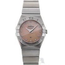 Omega Constellation Ladies Diamond Quartz 24